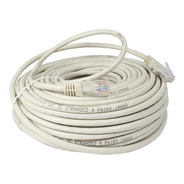 Cable De Red Patch Cord 40 Metros Armado Rj45 Ethernet Lanus