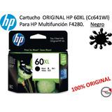 Cartucho Original Hp 60xl (cc641wl) P/multifunc. F4280 Negro
