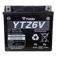 Bateria Yuasa Ytz6 V = Ytx5l Bs Gel Cg New Titan 150 Motofas