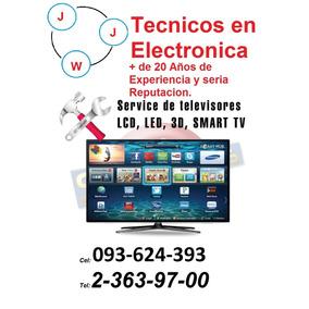 Venta Y Reparacion De Tv, Led, Lcd, 3d, Smartv, Plasma.