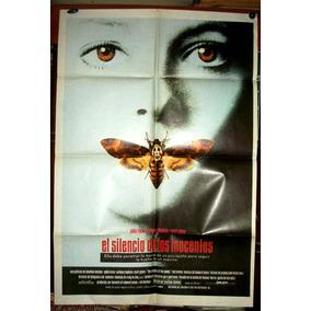Silencio De Los Inocentes Afiche Orig 1991 N417 Jodie Foster
