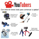 Kit Youtuber Grabacion Profesional Graba En 4k Tripode