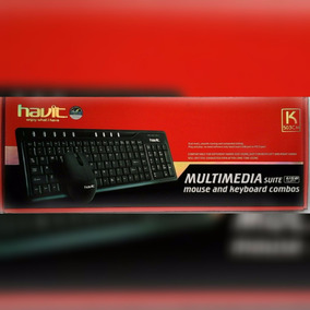 Teclado Y Mouse Havit Usb Para Windows Vista-xp,me,2000,0sx