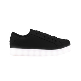 Zapatillas Footy Led Negra - Footy Oficial