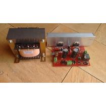 Placa Montada Amplificador 200w Rms Tda7294 + Transformador