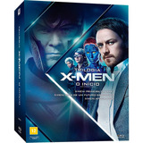 X-men Trilogia Inicial Box Blu-ray + Camiseta Exclusiva Novo