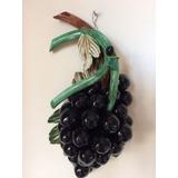 Fruta Uvas Decorativa Figura Adorno Para Guindar Cocina