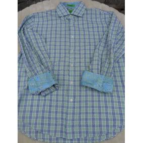 Camisas Casuales Color Primario Esmeralda en Nuevo León en Mercado ... 91e54b6fd489b