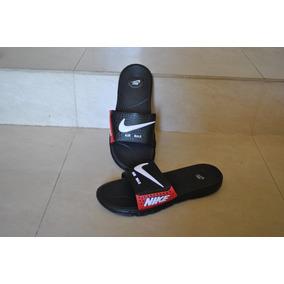 Kp3 Cholas Pantuflas Nike Am Negro / Rojo Para Caballeros