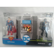 Superman Vs Darkseid  Liga De La Justicia Spin Master