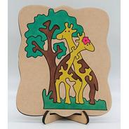 Quebra Cabeça Girafas
