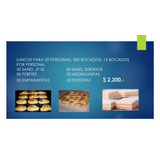 Lunch Sandwiches Lunchs Para 10 20 30 50 100 Personas Ofer
