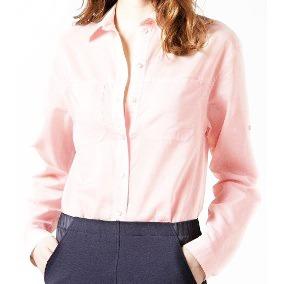 Camisa Lacoste Mujer, Manga Larga , Cf5928