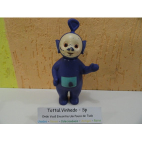 Boneco Teletubes De Vinil Tinky Winky Da Estrela Original