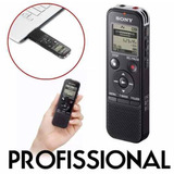 Gravador De Voz Digital Sony Px470 4gb Profissional Original