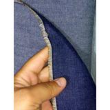 1 Metro Tecido Jeans Grosso Cia Dos Tecidos