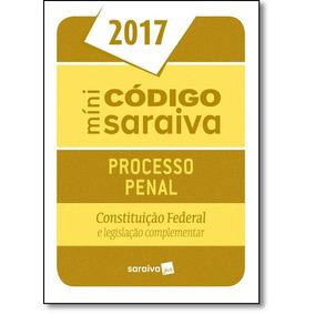 Minicódigo De Processo Penal E Constituição Federal