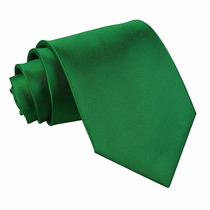 Gravata Slimfit Sport Verde Bandeira Pront Entrega No Brasil