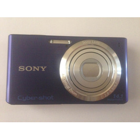 Câmera Digital Sony Dsc-w610 Só Corpo Sem Acessórios
