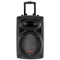 Caixa De Som Amplificadora 200w Rms + Microfone - Trc 358