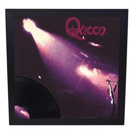 Quadro Imagem Do Lp Com Disco De Vinil Queen