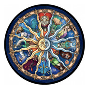 Rompecabezas Mandala Zodiaco, 500 Piezas