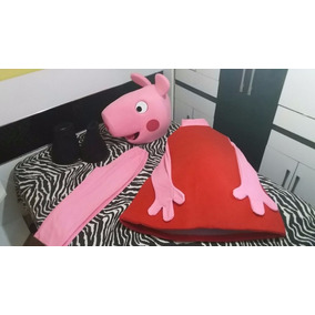 Mascote Peppa Pig De Luxo (pronta Entrega)