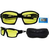 Óculos Visão Noturna Para Dirigir A Noite Polarizado Uv400