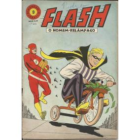 Hq Flash O Homem Relampago 1968 (1ª Ebal) Nº 9 Frete Grátis
