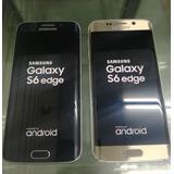 Original Samsung Galaxy S6 Edge Libre 4g 32gb Accesorios 4gb