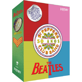 The Beatles Sgt. Peppers Club Band 50 Anos - 3 Dvds Rock