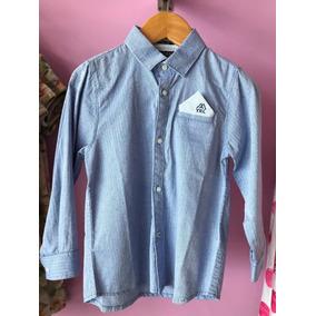 Niños Camisa Azul Con Pañuelo - Mayoral