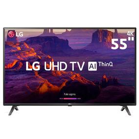 Smarttv 55 Ultra Hd 4k Lg 55uk6360psf Ips Inteligência Artif