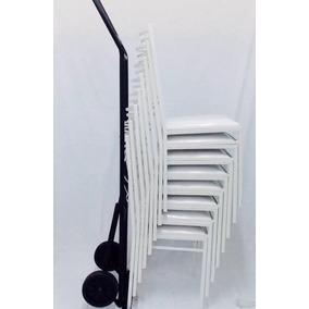 120 Cadeiras De Ferro, Buffet, Empilhável Porto Ferreira -