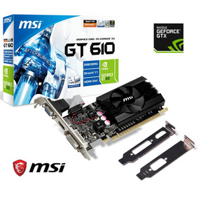 Placa Video Nvidia Geforce Gt610 2gb Ddr3 Dx11 Cooler Hdmi