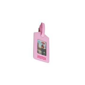 Fujifilm Instax Colgante P/valija Simil Cuero Rosa