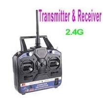 Rádio 6ch Fly Sky 2.4g Receptor 6ch Futaba Jr Speckrum