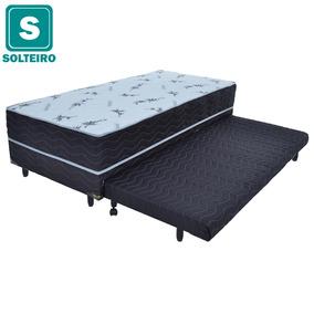 Box Conjugado Solteiro Com Cama Auxiliar Pelmex 55x88x188cm