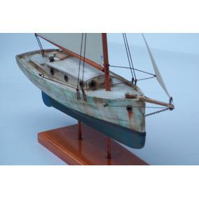 Barco De Vela Antiguo 23 Cm Eslora Total