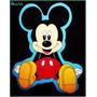 Minnie,mickey, Pluto, Daisy, Goofy, Donald En Goma Eva 15cm