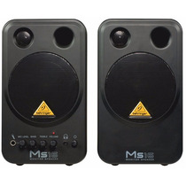 Ms16 Monitor Behringer Ativo Par Ms-16 Woofer 16w