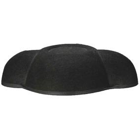 56bfd324ddc1e Sombrero De Traje De Pelea De Toros De Matador Negro.