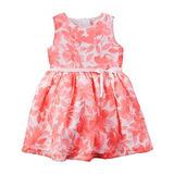 Carters Vestido Floral Sin Mangas Para Niña De 3 Meses