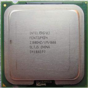 Procesador Pentium 4, 2.80ghz Socket 775