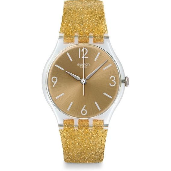 Reloj Swatch Sunblush Ge242c - 34 Mm - Mujer