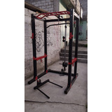Maquina Multifuerza Gimnasio + Banco Regulable