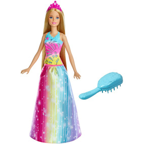 Barbie Princesa Peina Y Brilla Envío Gratis Tienda Oficial