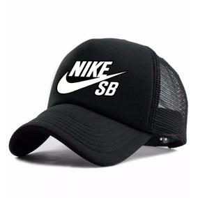 Boné Trucker Nike Sb - Marca Tela Telinha Aba Curva Neymar!