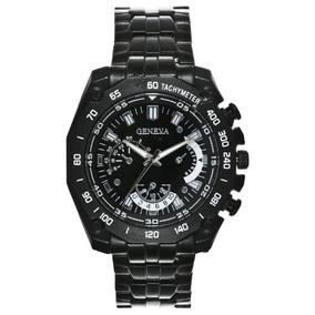 Reloj Para Hombre Geneva Chronograph-style Link W118