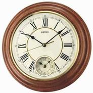 Reloj De Pared Seiko Dual Time Qxa494b   Envío Gratis